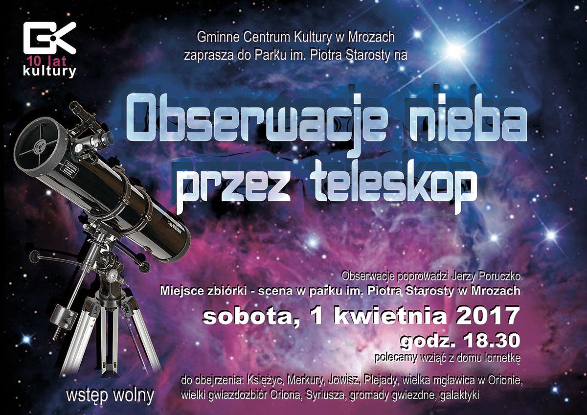 astronomiczna obserwacja
